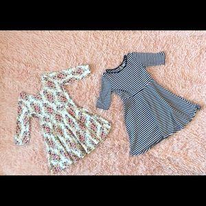 Girls Size 8 set of dresses